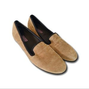 Munro American Women Leather Flat Shoes Size 9.5